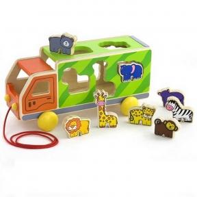 Сортер Вантажівка з тваринами Viga Toys 50344