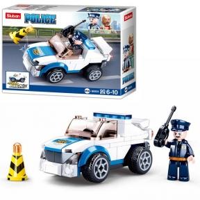 SLUBAN Конструктор Police 90 ел M38-B0824