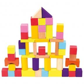 Кубики у відрі 50 ел Bino 84204
