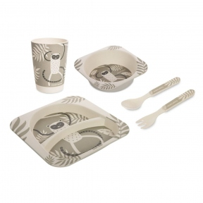 CANPOL Набір посуду бамбуковий Lemur 9/214