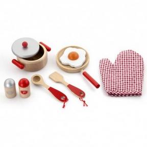 Набір Маленький кухар червоний Viga Toys 50721