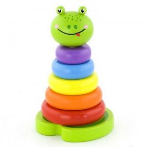 Пірамідка Жабеня Viga Toys 50258