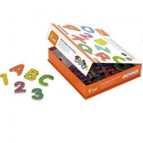 Набір магнітних букв і цифр Літери і цифри Viga Toys 59429
