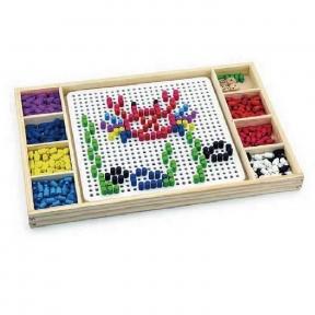 Гра Мозаїка і Лудо 2 в 1 Viga Toys 59990