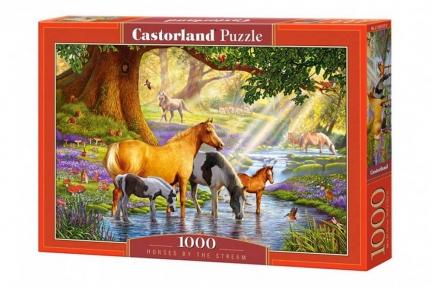 CASTORLAND Пазли 1000 Коні біля річки С-103737