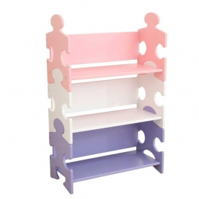 Стелаж Pastel Puzzle KidKraft 14415