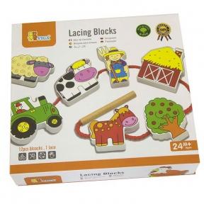 Шнурівка Ферма Viga Toys 59548