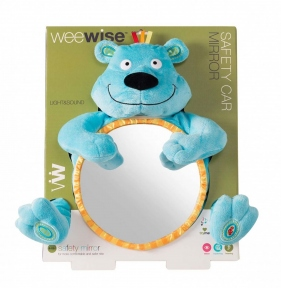 WEEWISE Іграшка-дзеркало Safety Car Mirror Ведмедик 30110