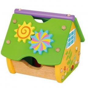 Розвиваюча іграшка Весела хатинка Viga Toys 59485