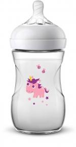 AVENT Пляшка для годування Natural 260 мл Єдиноріг SCF070/25