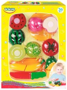 BEBELINO Набір фруктів на липучках Магазин 58079