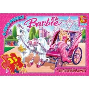 G-TOYS Пазли 35 Barbie 30 x 21 см BA006