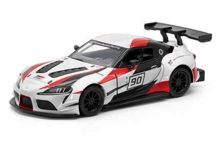 KINSMART Машинка Toyota GR Supra Racing Concept printing KT5421WF