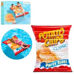Матрац надувний Potato Chips Intex 58776