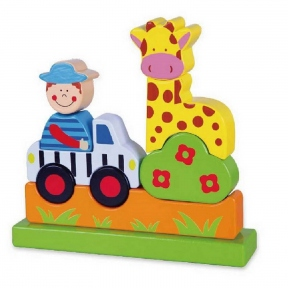 Магнітний пазл Сафарі Viga Toys 59702