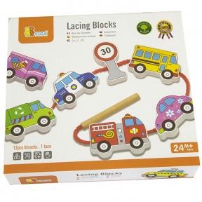 Шнурівка Автотранспорт Viga Toys 59851