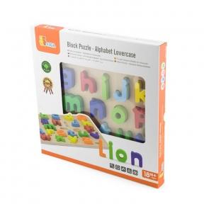Набір Абетка Рядкові літери Viga Toys 50125