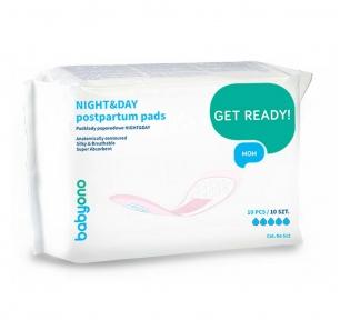 BABY ONO Прокладки гігієнічні післяпологові Day&Night 10 шт 512