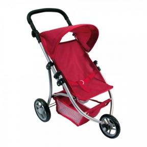Лялькова триколісна коляска Bino 82914