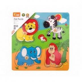 Пазл Дикі тварини Viga Toys 59563