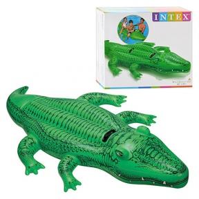 Плотик надувний Крокодил Intex 58562