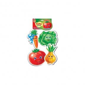 VLADI TOYS М'які пазли Овочі VT1106-76