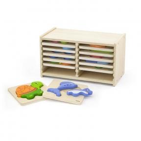 Набір пазлів 12 шт Viga Toys 51423