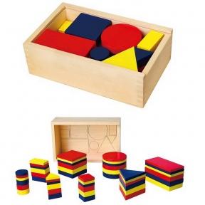 Набір для навчання Логічні блоки Viga Toys 56164U