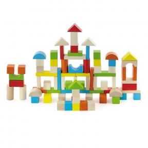 Набір будівельних блоків Місто 80 ел Viga Toys 50333