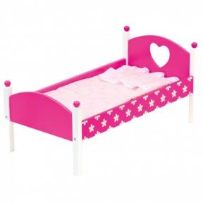Ліжечко для ляльки з ковдрою Bino 83700