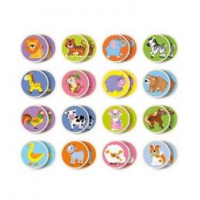 Настільна гра Memory-тварини 32 картки Viga Toys 51308