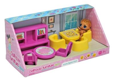 ТИГРЕС Набір меблів для ляльки 8 ел Вітальня 39696