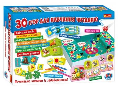 CREATIVE Великий набір 30 ігор для навчання читанню 12109098У