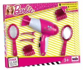 Набір для догляду за волоссям з феном Klein Barbie 5790
