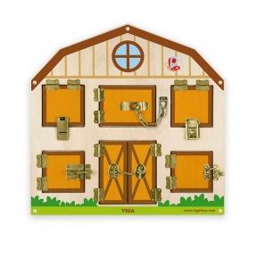 Бізіборд Відкрий замок Viga Toys 51627
