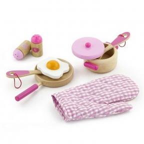 Набір Маленький кухар рожевий Viga Toys 50116