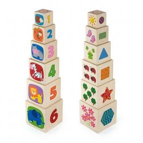 Кубики Viga Toys 50392