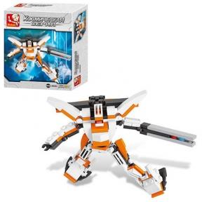 SLUBAN Конструктор Робот 106 ел M38-B0383