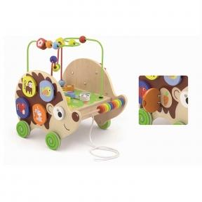 Іграшка-каталка Їжачок 4 в 1 Viga Toys 50012