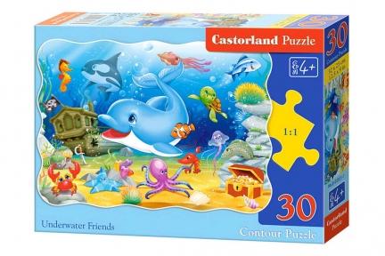 CASTORLAND Пазли 30 Підводні друзі В-03501