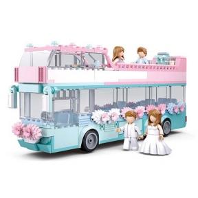 SLUBAN Конструктор Girls Dream Весілля 379 ел M38-B0769