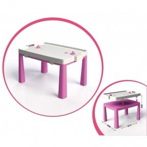 DOLONI Стіл з комплектом для гри рожевий 04580/3