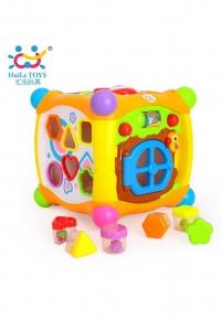 Сортер музичний Huile Toys Чарівний куб 936