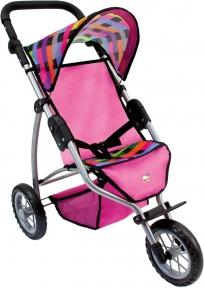 Лялькова триколісна коляска Bino 82912