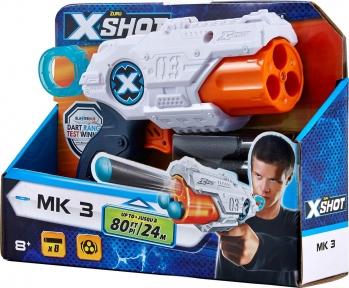 X-SHOT Бластер Excel MK-3 8 патронів 36118Z