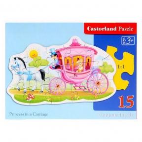 CASTORLAND Пазли 15 Принцеса В-015122