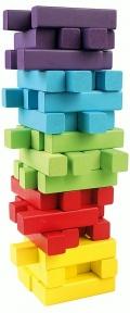 Вежа Дерев'яні кубики 60 ел Bino 84205
