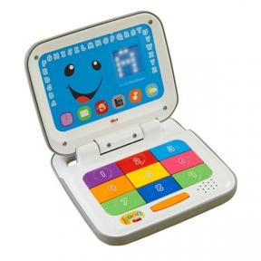 FISHER-PRICE Інтерактивний комп'ютер з технологією Smart Stages (укр.) DKK17