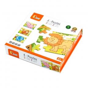 Набір пазлів Джунглі 48 ел Viga Toys 50068