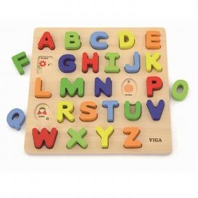 Набір Абетка Слово на букву Viga Toys 50124